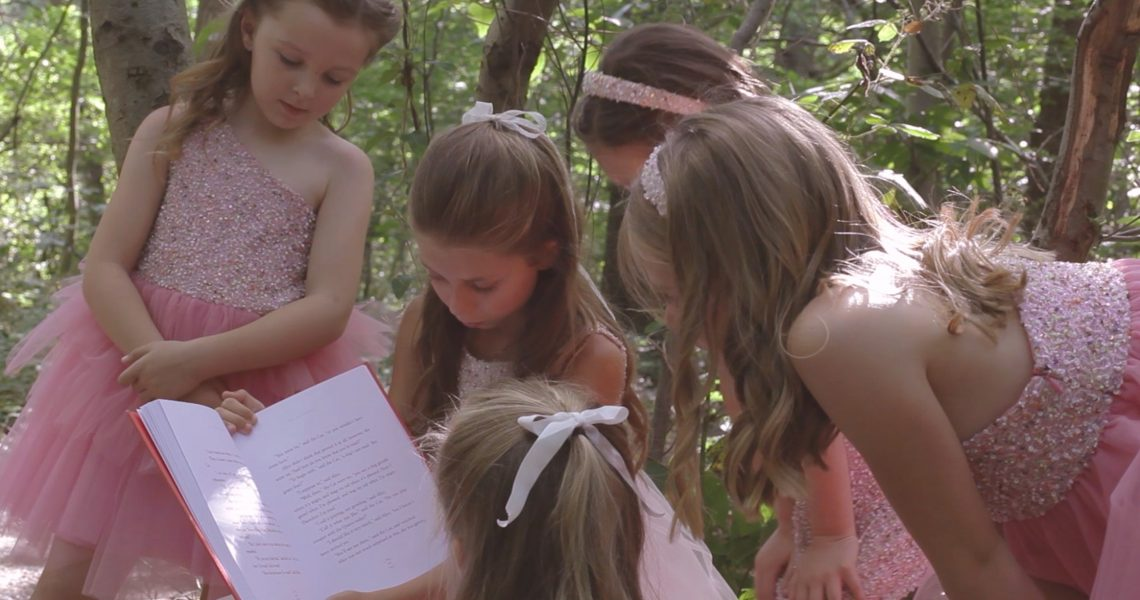 Deena London, 'Enchanted Garden' SS/18 Childrenswear – Follow Alice's Journey…!